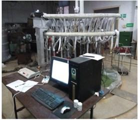 Model test system
