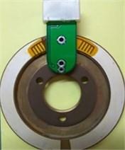 The piezoelectric ceramics in four degradation states