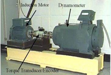 Experimental set up with sensors (CWRU)