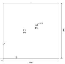 Diagram of sample plates