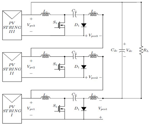 CVC converter cascaded topology