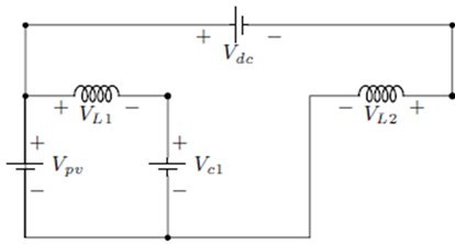 DC equivalent circuit of CVC converter