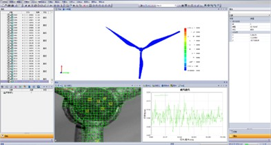 Test results of wind turbine dynamic response