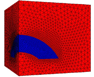 Gently inclined thick ore body calculation model