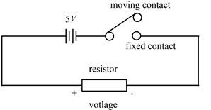 Circuit diagram of the breaker