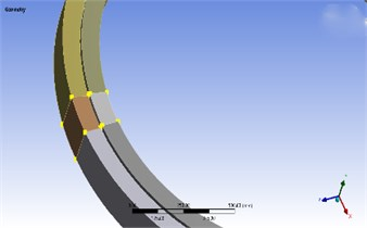 Pitch bearing (with weak zone)
