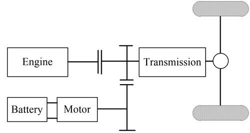 Parallel power transmission line