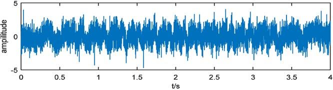 Simulated vibration signal