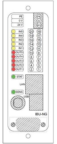 Interface bus unit labelling