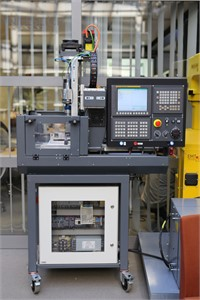 3-Axis vertical CNC machine that  is used to carry out this paper