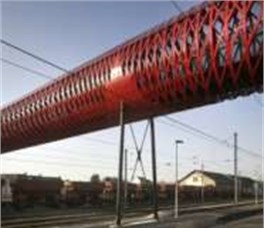 Application of the proposed approach in railway transport systems (the pedestrian bridge)