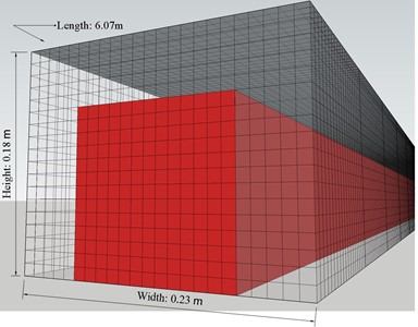 Simulations for the space model