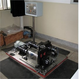 Test rig of bearing compound fault experiment