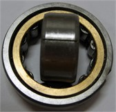 Rolling bearing compound fault with the machined fault  on inner race, rolling element and outer race