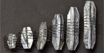 Stent motor with different sized receivers