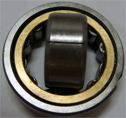 The machined faulty bearing