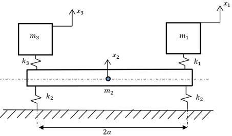 """Dynamic model of """"device-foundation"""" system"""