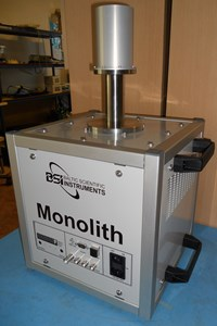 "Gamma-ray spectrometer ""Monolith"" produced by BSI and analysis of microphonic noise"