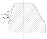 Gear plate machining error