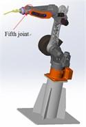 3D model of welding robot