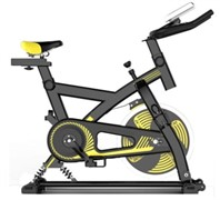 The cycling-trainer equipped with the suspension