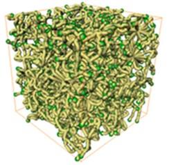 3D sandstone pore networks. (3 mm×3 mm×3 mm)