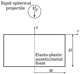 A schematic of the problem under investigation