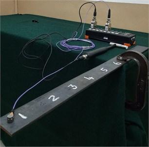 Experimental setup for Arduino