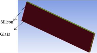 Geometry of single photo voltaic module