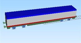 Vehicle model using SIMPACK software