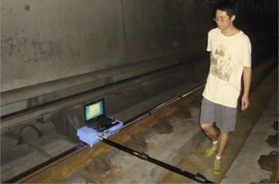 Corrugation analysis trolley