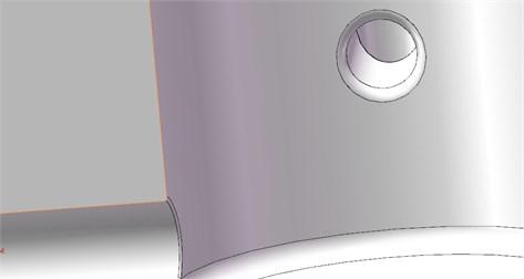 Modified structure model partial detail figure