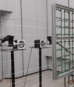 Photograph of the experimental setup