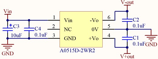 Sinusoidal generation power supply circuit