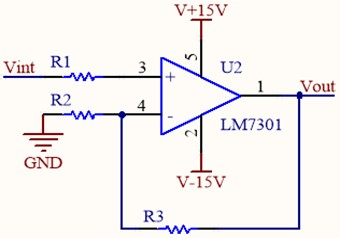 Sinusoidal amplifier circuit