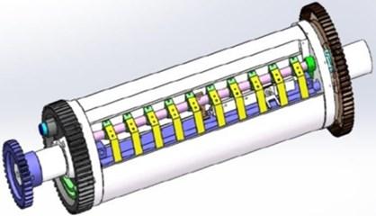 3D model of the roller