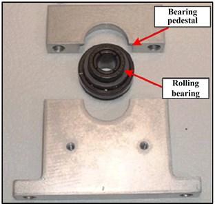 Bearing pedestal and rolling bearing