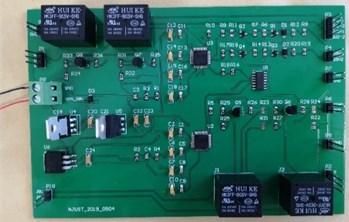 Analog overload signal generation circuit