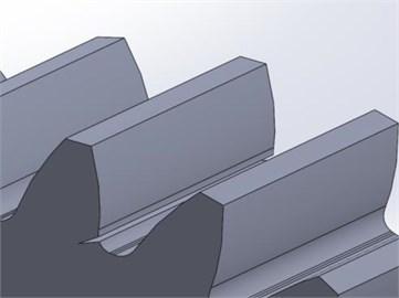 Gear failure model