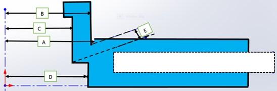 Geometry of the brake disc