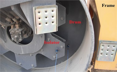 Double-drum vibrating roller