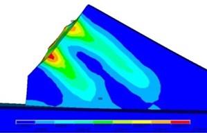 Tensile stress of PC girder segment
