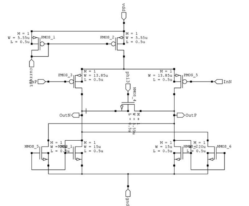 Preamplifier schematic