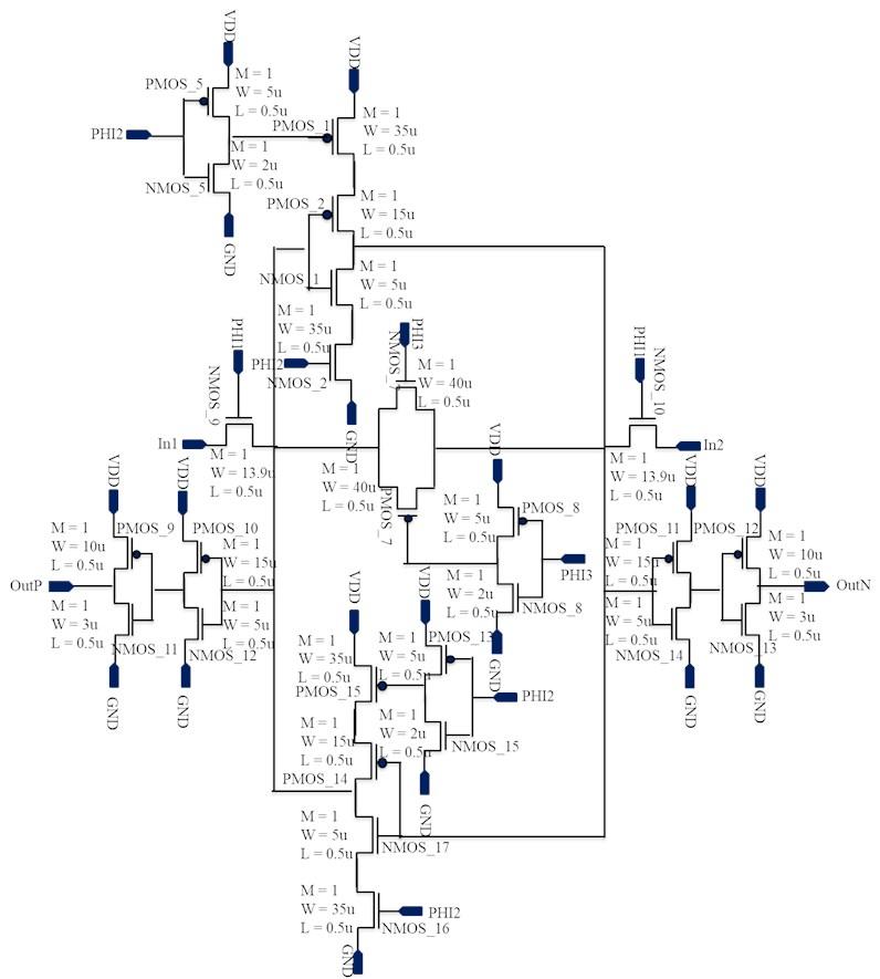 Latch schematic