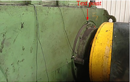 Fault detection of the bearing inner ring of the steel mill.