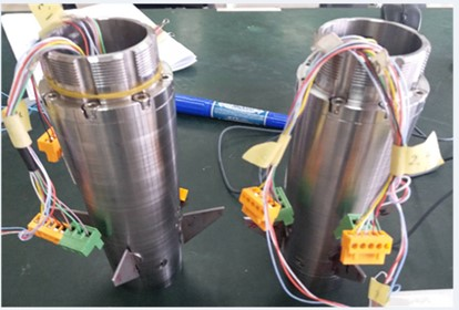 Prototype and test system of new high overload electromagnetic shell steering gear