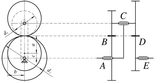 Scheme of the intermittent motion planetary mechanism