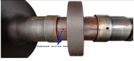 Overview of turbomachinery rotor assembly and failure observations  of thrust collar assembly for typical turbomachinery
