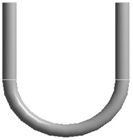The model of U-bend