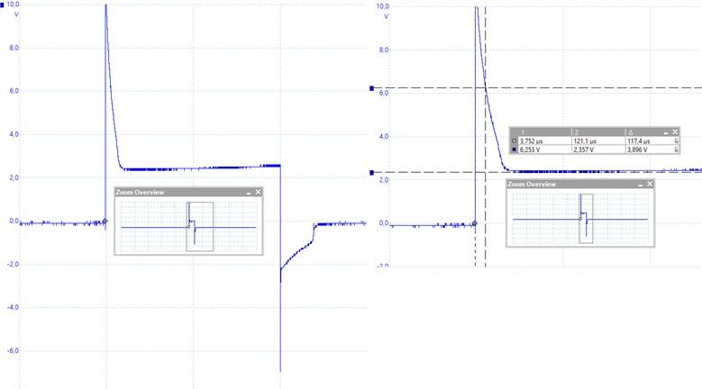 Projectile shot voltage variation in single coil model [Original]